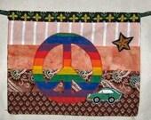 Peace Car Flag