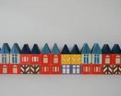 CHOOSE ONE 10-block set of Vintage Scandinavian style blocks