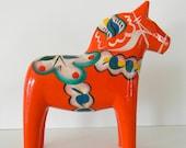 handpainted swedish dala horse