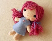 Doll pdf Pattern, Doll Pattern, Plush Doll, Easy Pattern