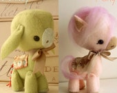 Pony and Donkey pdf Pattern - Instant Download