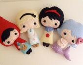 Fairy Tale Dolls pdf Patterns