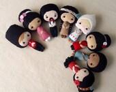 International Dolls pdf Patterns - Entire Set of Eight