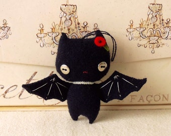 Halloween Bat Ornament pdf Pattern - Instant Download