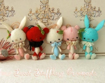 Mini Sweet Stuffling pdf Pattern - Instant Download