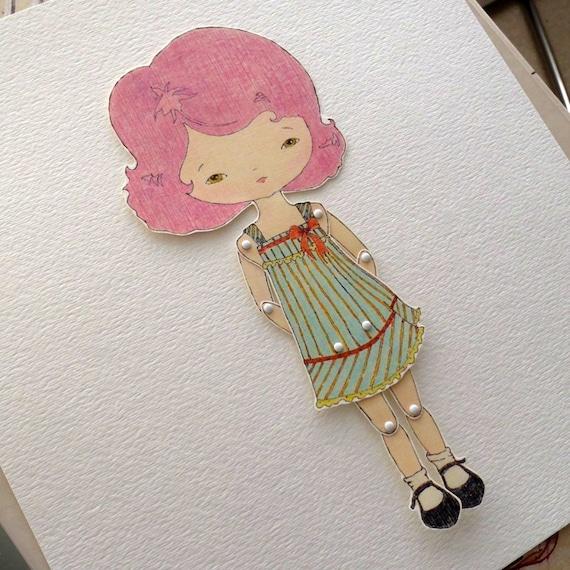 Paper Doll - Violet