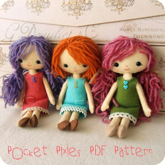 Pocket Pixie PDF Pattern