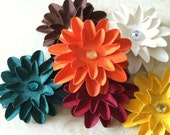Set of (6) Thanksgiving Theme Paper Flowers