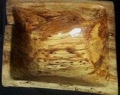 CARVED DRIFTWOOD BOWL