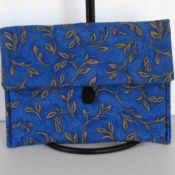 Quilted Nook GlowLight, Nook Simple Touch Cover - Branches on Blue