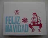 Feliz Navidad Lucha Card