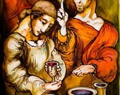 The miracle at Cana  Art reproduction