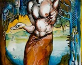 Judas hangs himself-ART REPRODUCTION