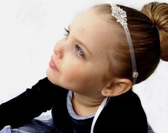 Toma Flower Girl Wedding Headband Girl Toddler Teen Flower Headband
