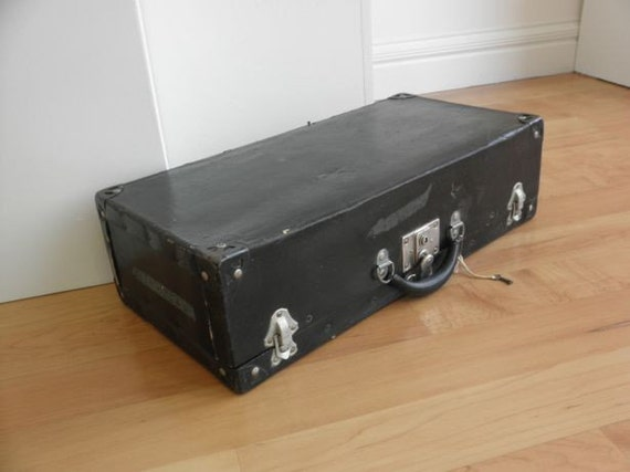 Early 1900s Samson Luggage Suitcase by Shwayder Brothers, Denver, Co.---Pre Samsonite