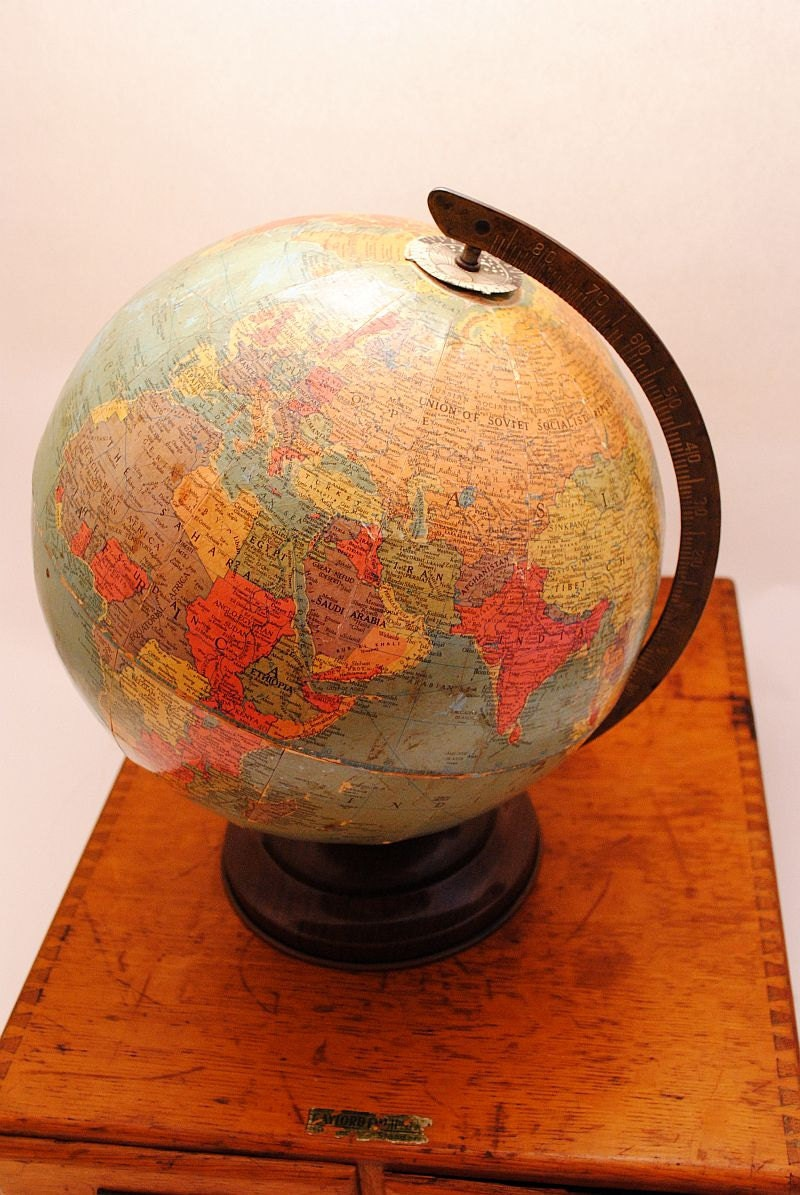 Dating World Globes How old is my globe