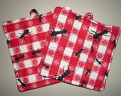 Special Order for jgaylene - Pot Holders - Marching Ants