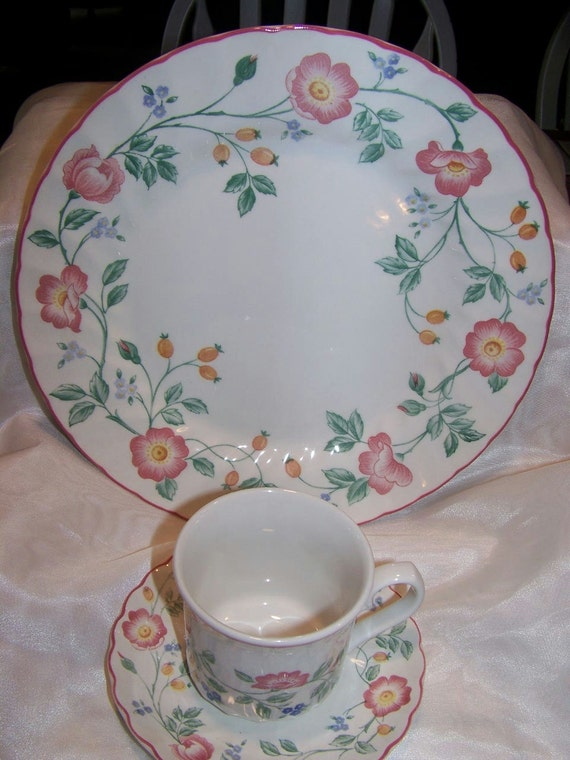 Vintage Churchill Tableware Plate Cup and Saucer
