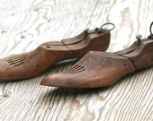 Vintage Wooden Shoe Last Forms Miller Trade Mark Damco