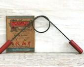 Circa 1950s Wood Metal Chest Exerciser Scarce