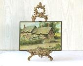 Vintage Anne Hathaways Cottage  Wooden Plaque