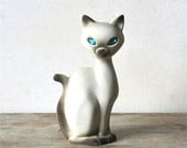 Circa 1950s Roselane Siamese Cat Sparkle Eye