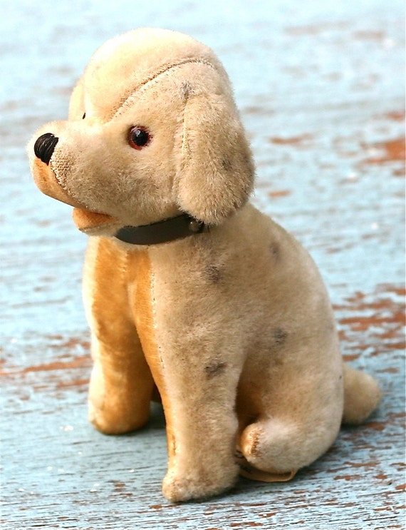 Vintage Woolikin Plush Dog Japan