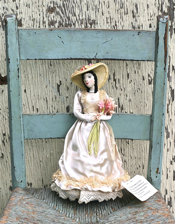 Antique Cloth Doll German Noblewoman