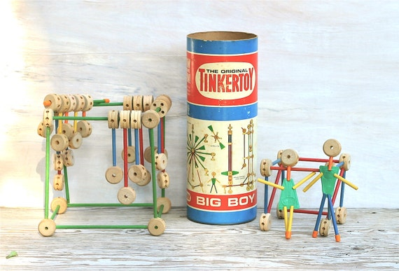 Old Toys From The 1960 : Circa s tinker toy big boy set