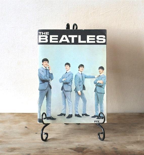 Circa  1964 The Beatles Souvenir Magazine Life With The Beatles