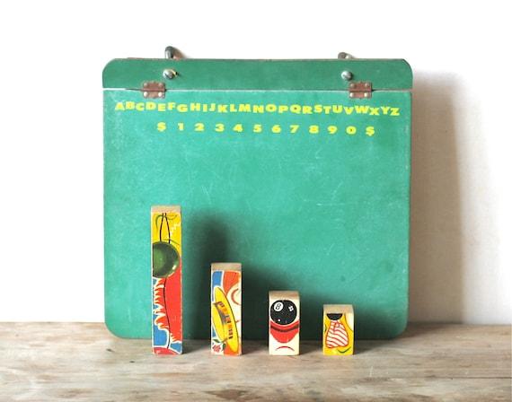 Vintage Chalk Board Paper Tablet