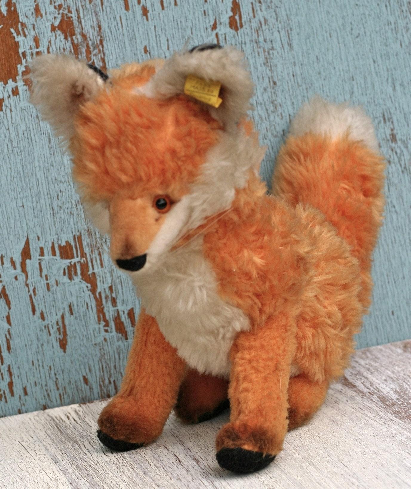 Steiff Vintage Fuzzy Fox