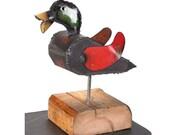 Duck on Block
