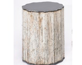 Side Table Reclaimed Farm Metal Gatski Ford Pickup