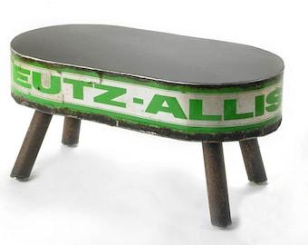 Metal Coffee Table Deutz Allis