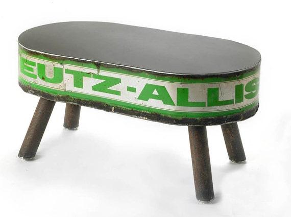 Metal Coffee Table Deutz Allis- 40% Sale - Price As Marked