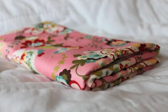 WeePod Swaddler - Designer Fabric Moda Sophie - Pink, White, Blue, Green, Yellow, Red