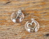 the key is to magnify your love earrings