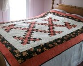 Double Irish Chain - Youth Bed or Throw Size -  B48
