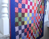 Patch on Patch  - Throw or Youth Quilt - C26