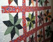 Super STAR  - Full Quilt, Vintage Fabrics  - C31