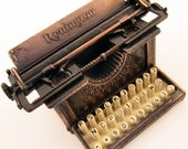 Vintage pencil sharpener, die cast miniature, typewriter, 1970s