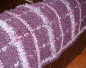 Luscious Purple Windowpane Throw - RESERVED for AJ