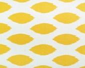 Decorative Designer Fabric-Corn Yellow and White Ikat- 4 yards-RESERVED FOR JSOPHIACROOK