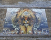 The Conquering Lion Hologram - 6 x 4 in
