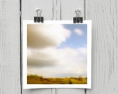 Fine art photograph (landscape 005) organic clouds whimsical wall décor