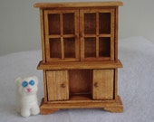 Minature Doll House Furniture Hutch