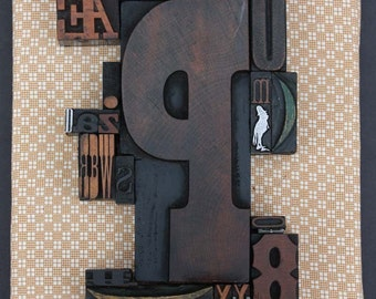 Assortment of Beautiful Woodtype