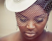 Custom Bridal Fedora