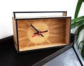 Bamboo Desk Clock